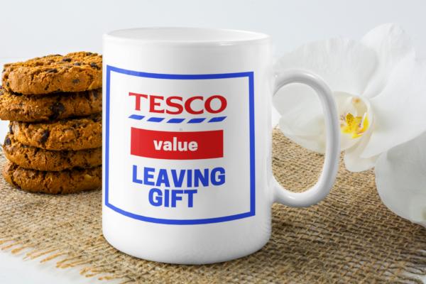tesco value leaving gift