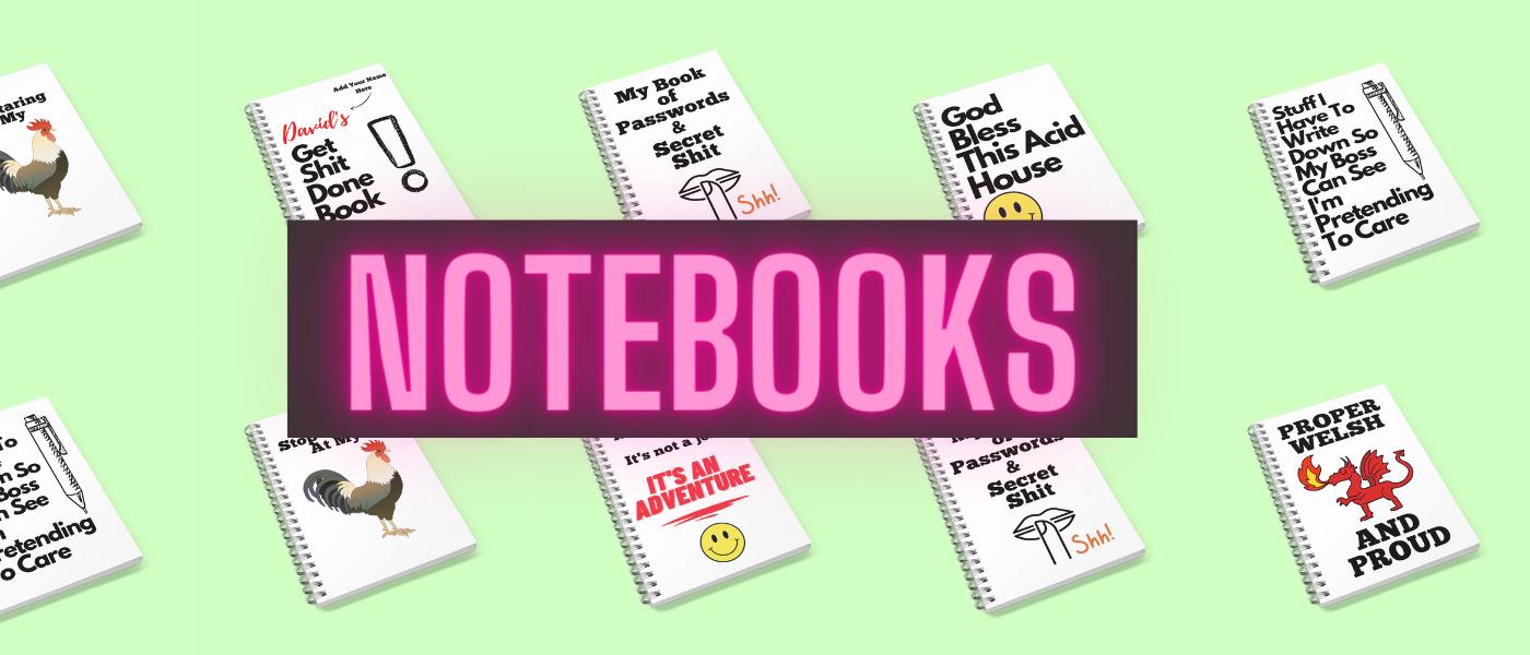 Funny Notebooks