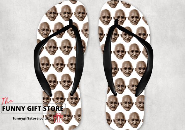 Ghandi's flip flop