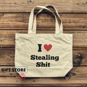 Stealing shit