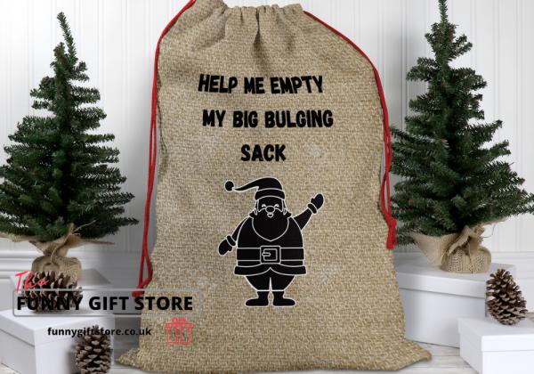 bulging sack