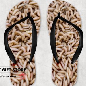 Maggots Flip Flops