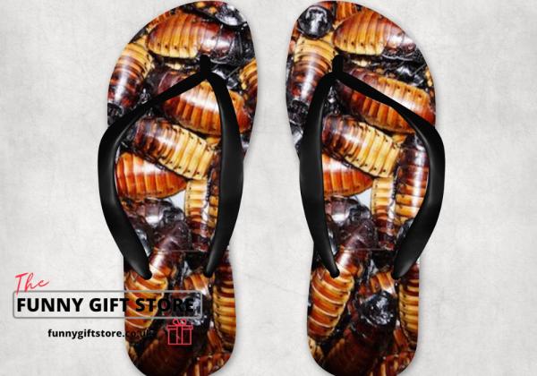 cockroach flip flops