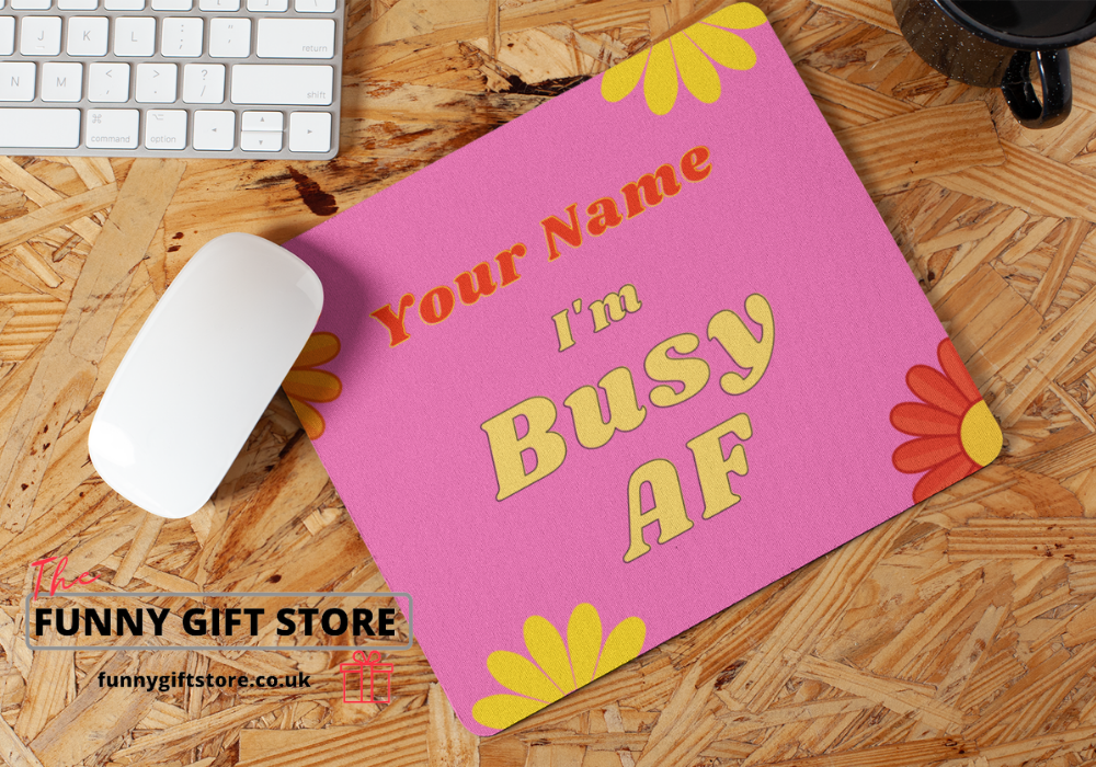 Busy Mouse Mat