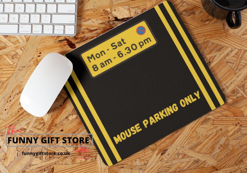 parking mouse mat
